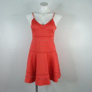 Parker Gunther Dress A-line Coral mini dress XS